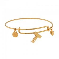Fashion mirror heart bracelet