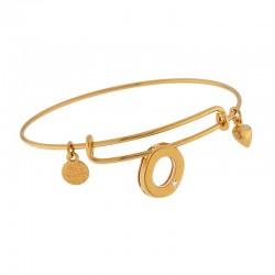 T-Bar heart bracelet